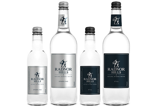 Radnor glass water produt